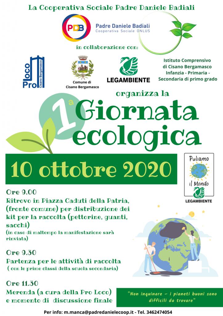 Giornata ecologica Cisano Bergamasco